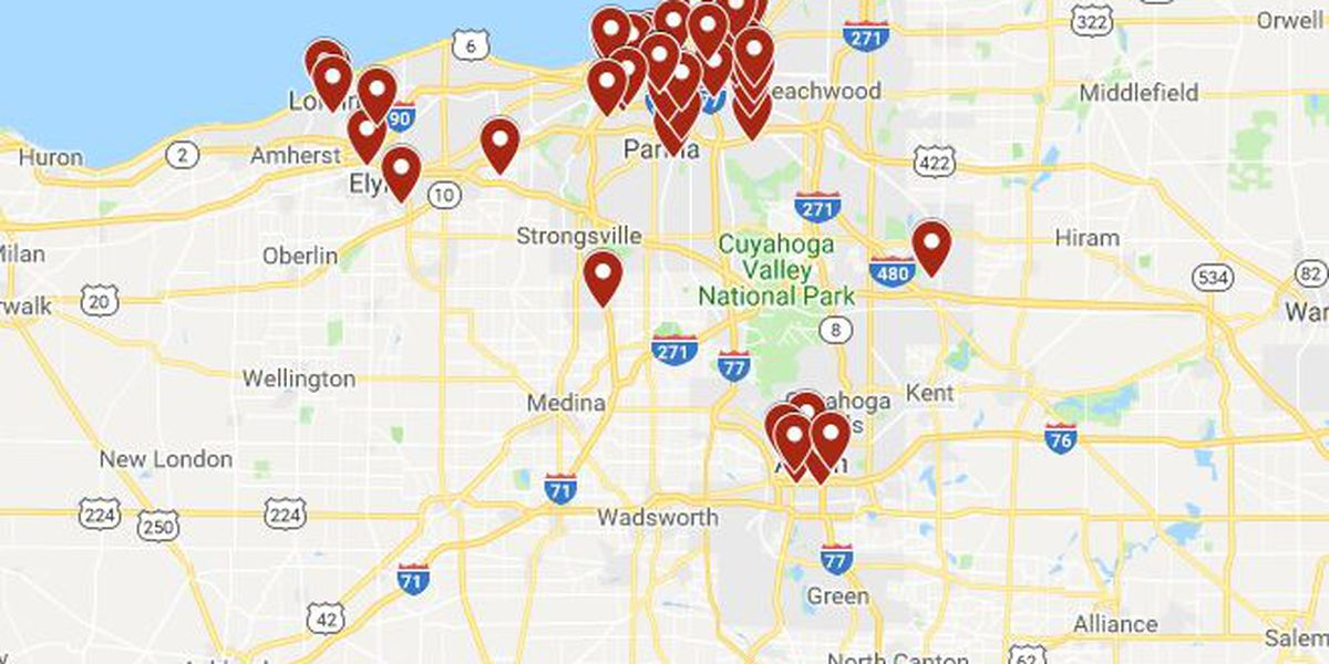 2018 Murder rate in Northeast Ohio (interactive map)