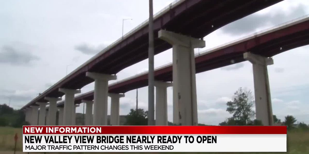 ODOT announcing major lane changes this weekend over the Valley View Bridge