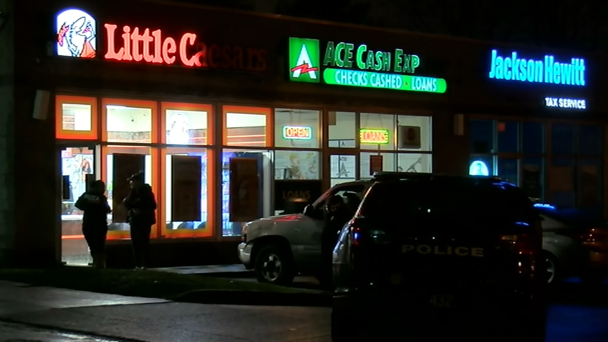 Little Caesars employee fires back at suspect during armed robbery attempt