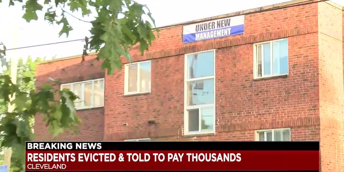 Multiple Cleveland families evicted from building apartment - tenants call move controversial