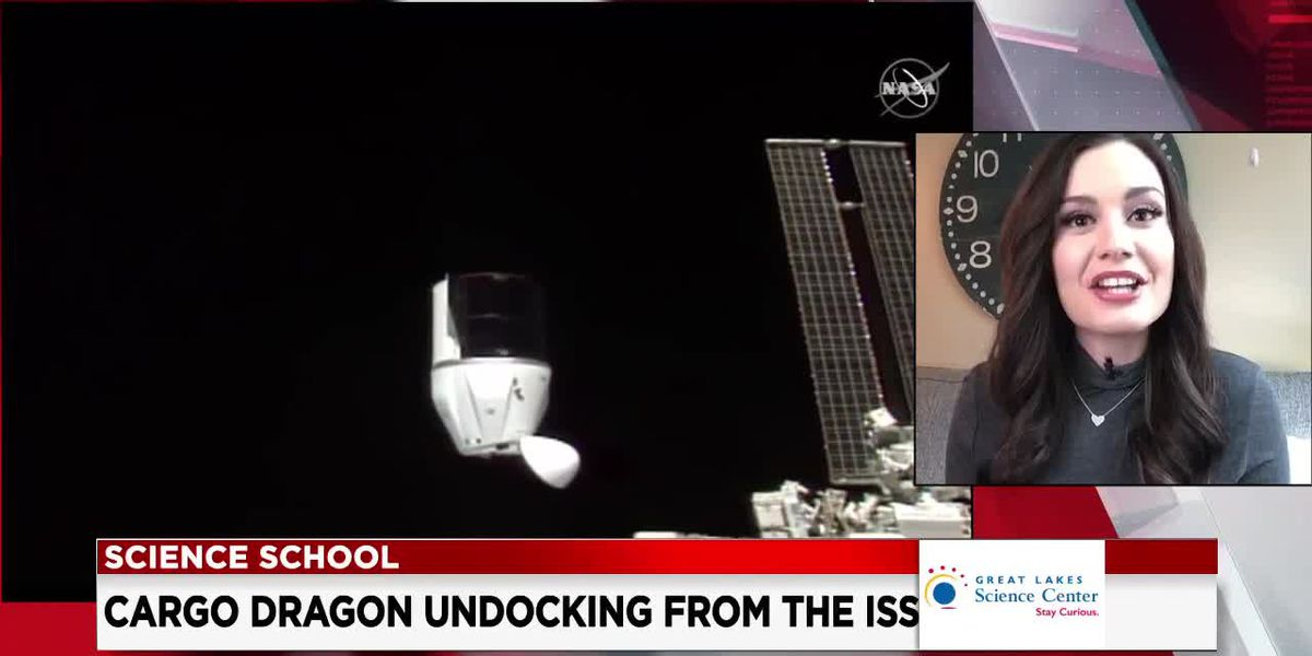 19 First Alert Science School: Undocking from the ISS
