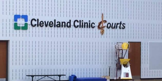 Cavs players return to Cleveland Clinic Courts