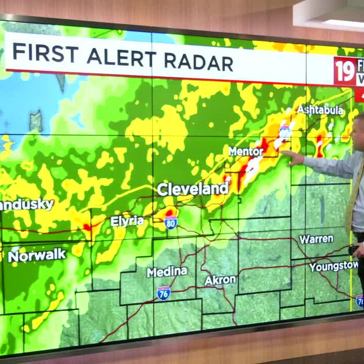 Northeast Ohio weather: Flooding rain on Wednesday morning turns into scattered afternoon showers, storms