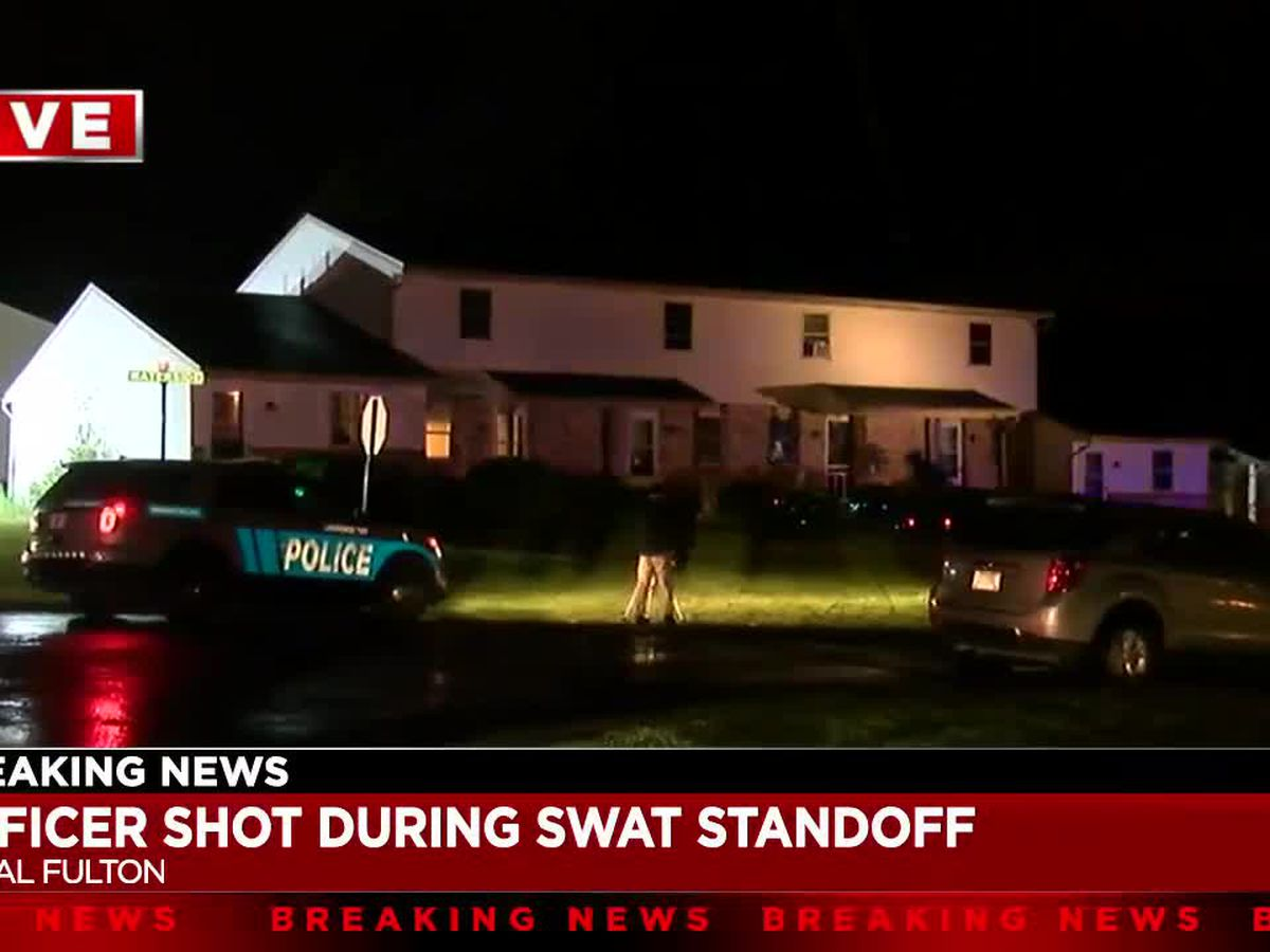 Canal Fulton police officer shot during SWAT standoff