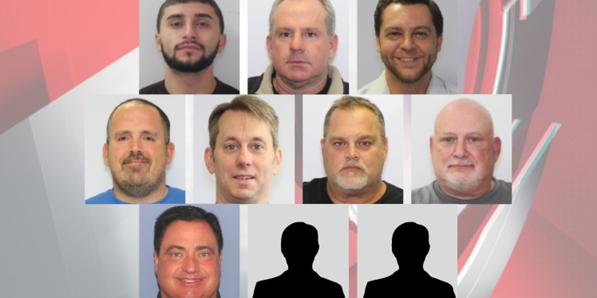 Multi-county human trafficking operation leads to arrest of 10 in Northeast Ohio; several victims identified