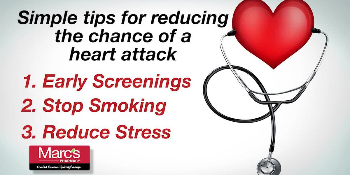 Helpful Tips to reduce the risk of heart attacks