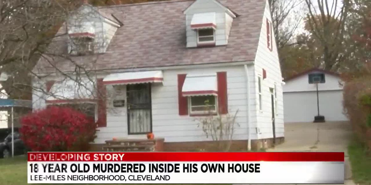 Cleveland Police on the hunt for cold blooded killer who shot 18 year old in his own home
