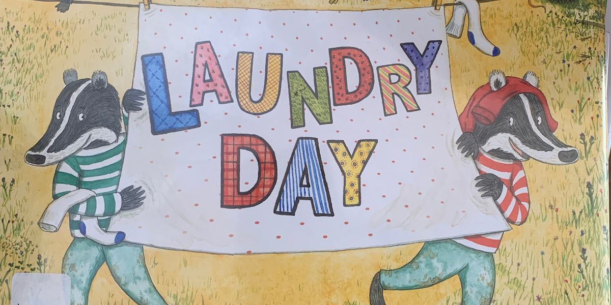 It's 'Laundry Day' on Story Time with Jamie Sullivan