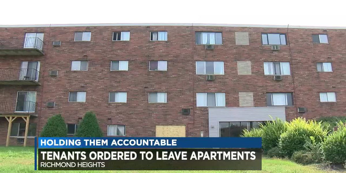 Richmond Heights officials order evacuation of decrepit Loganberry Ridge apartments