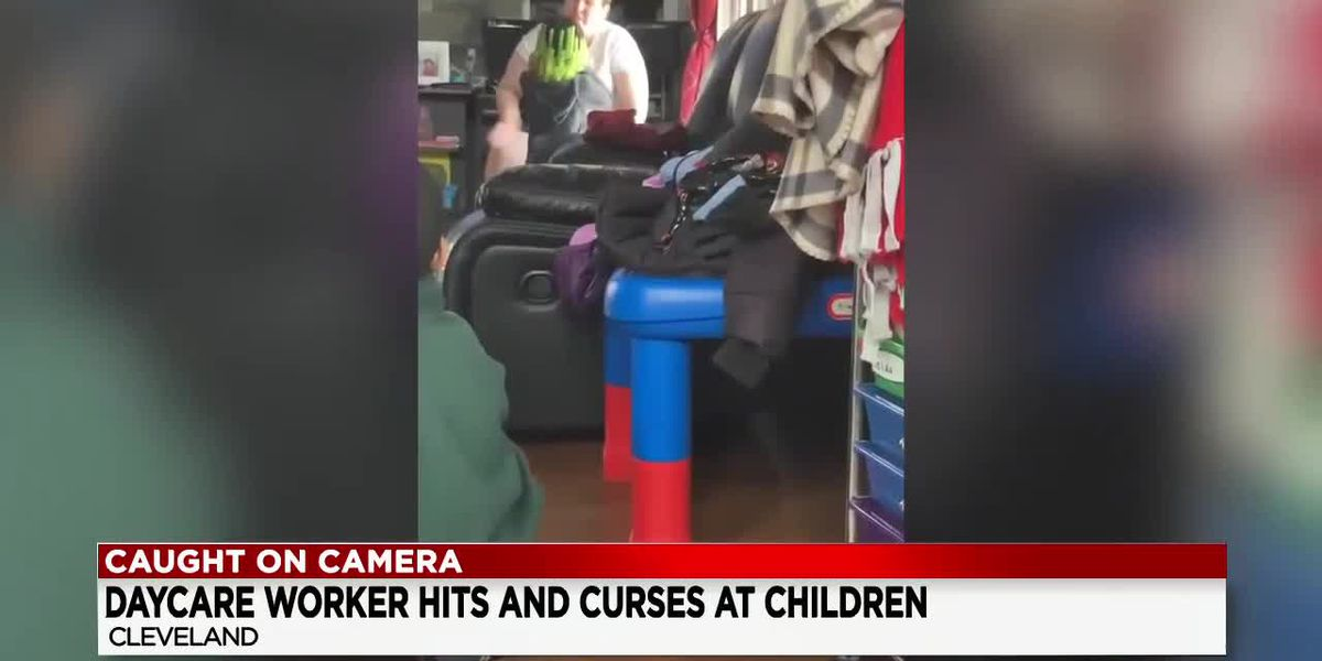 Cleveland daycare worker arrested after video shows her hitting children