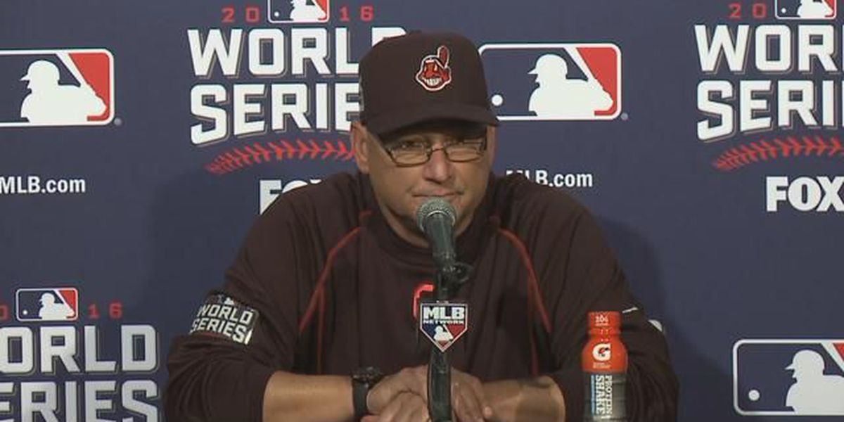 Downtown worker asks Indians manager Terry Francona 'Who do you want to win?'