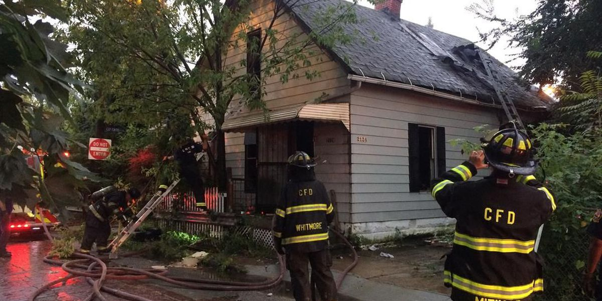Cleveland firefighters stamp out pair of house fires on city's West Side; injury reported