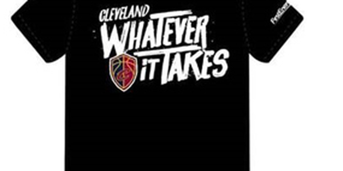 Free Cavaliers shirt for anyone attending Game 1 or 2 vs. Pacers