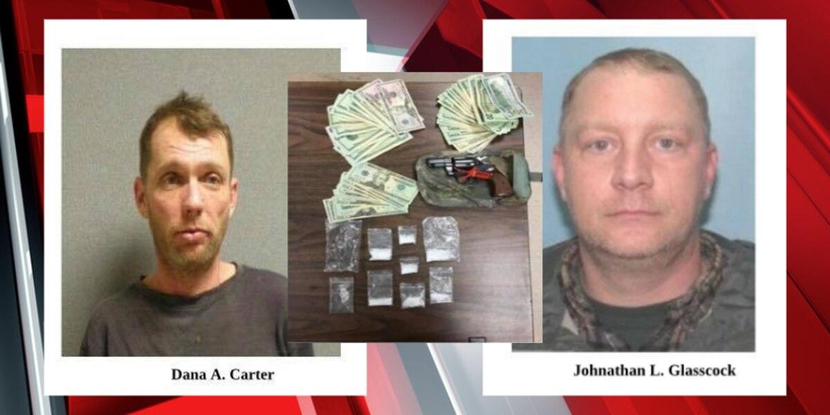 Geauga County deputies bust 2 men with meth, heroin, handgun after month of complaint calls