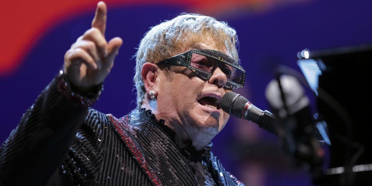 Elton John adds second...