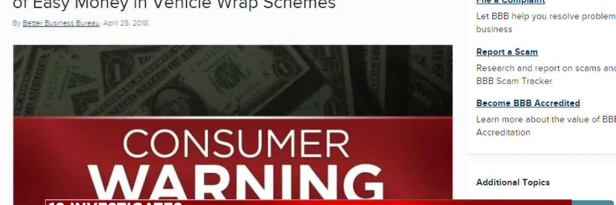 Ohio woman loses thousands of dollars in 'car wrap' scam
