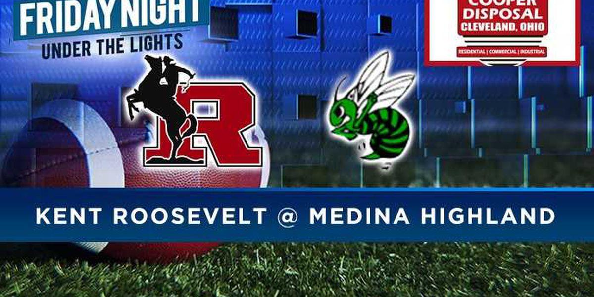 Game of the Week: Kent Roosevelt vs. Medina Highland