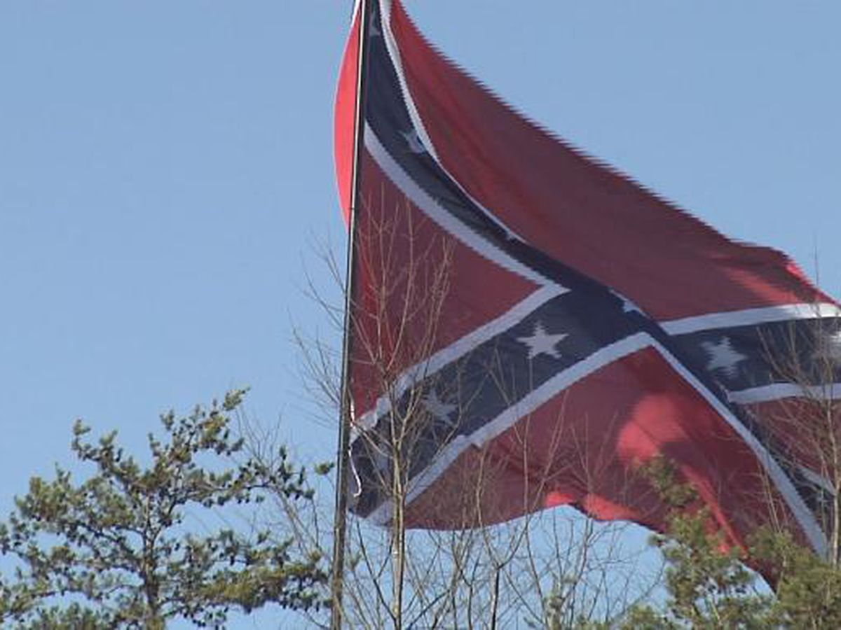 'Enough is enough': Opponents of Confederate flag sales gather against Lorain County Fair Board