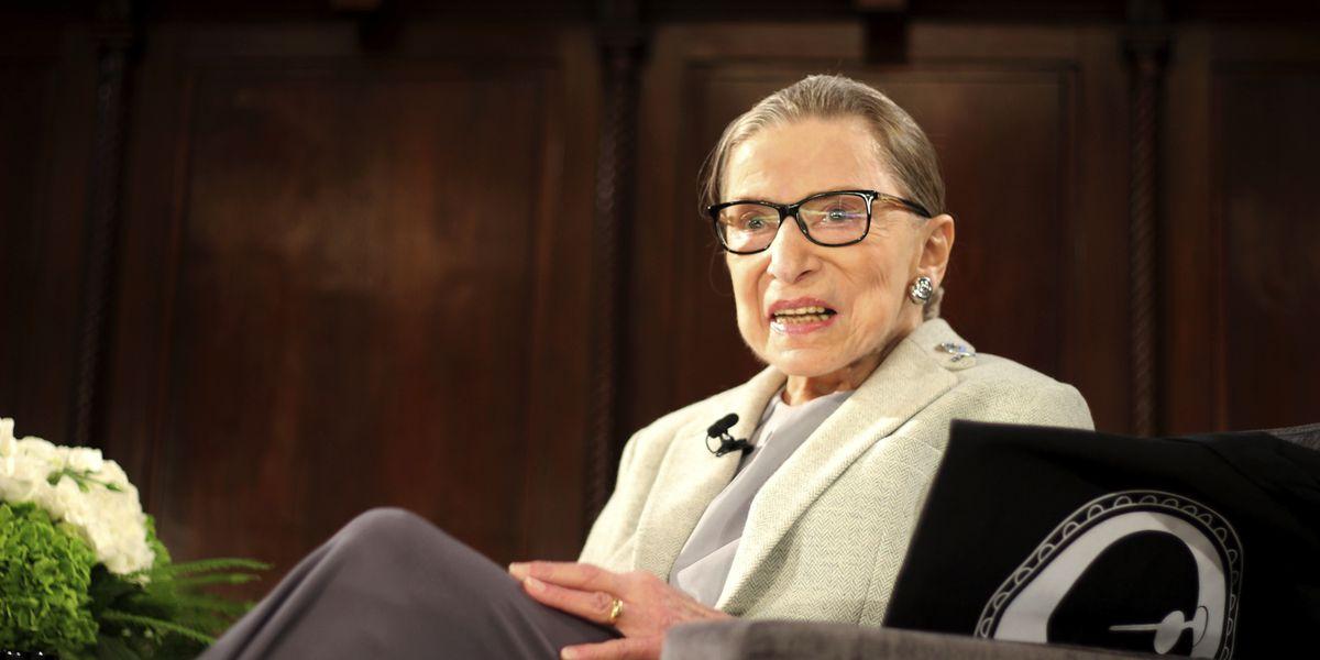Supreme Court says Justice Ruth Bader Ginsburg back at work