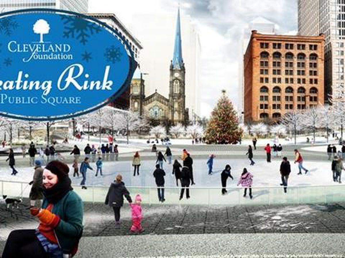 Cleveland Public Square Ice Rink Ticket Giveaway