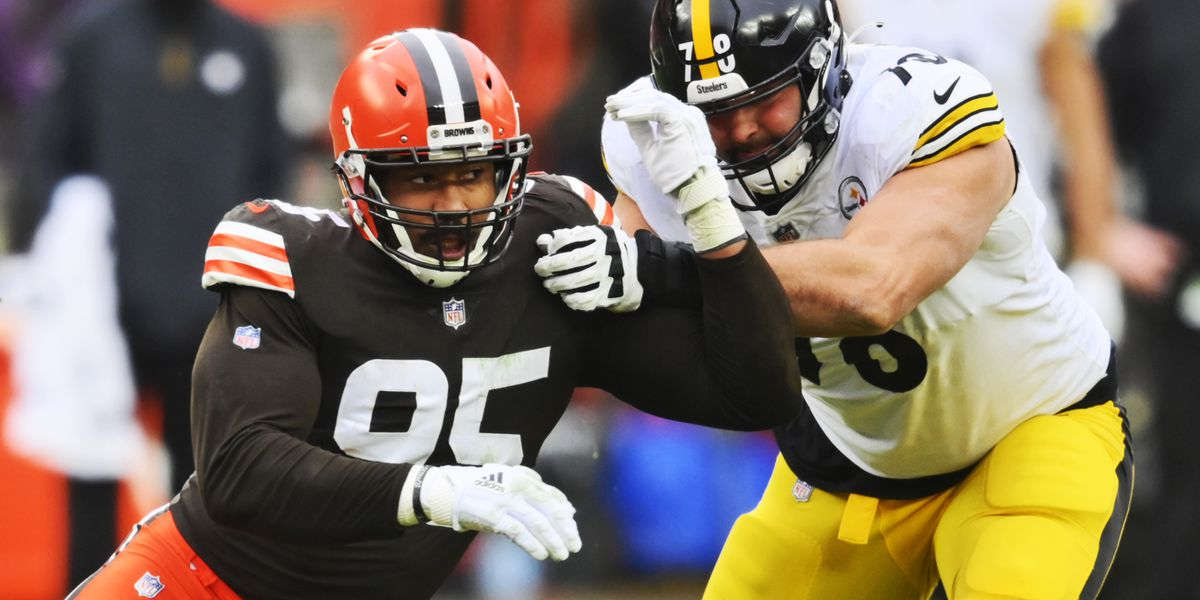 Myles Garrett and Mason Rudolph exchange praise for each other after Sunday's Browns, Steelers game (photos)
