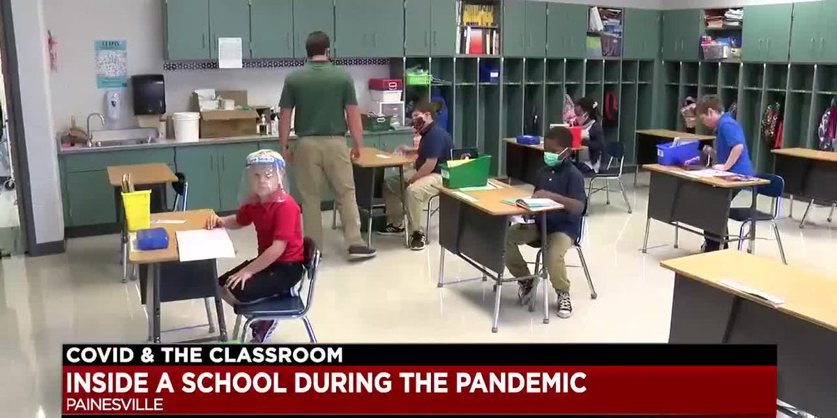 A look inside a school during the COVID-19 pandemic