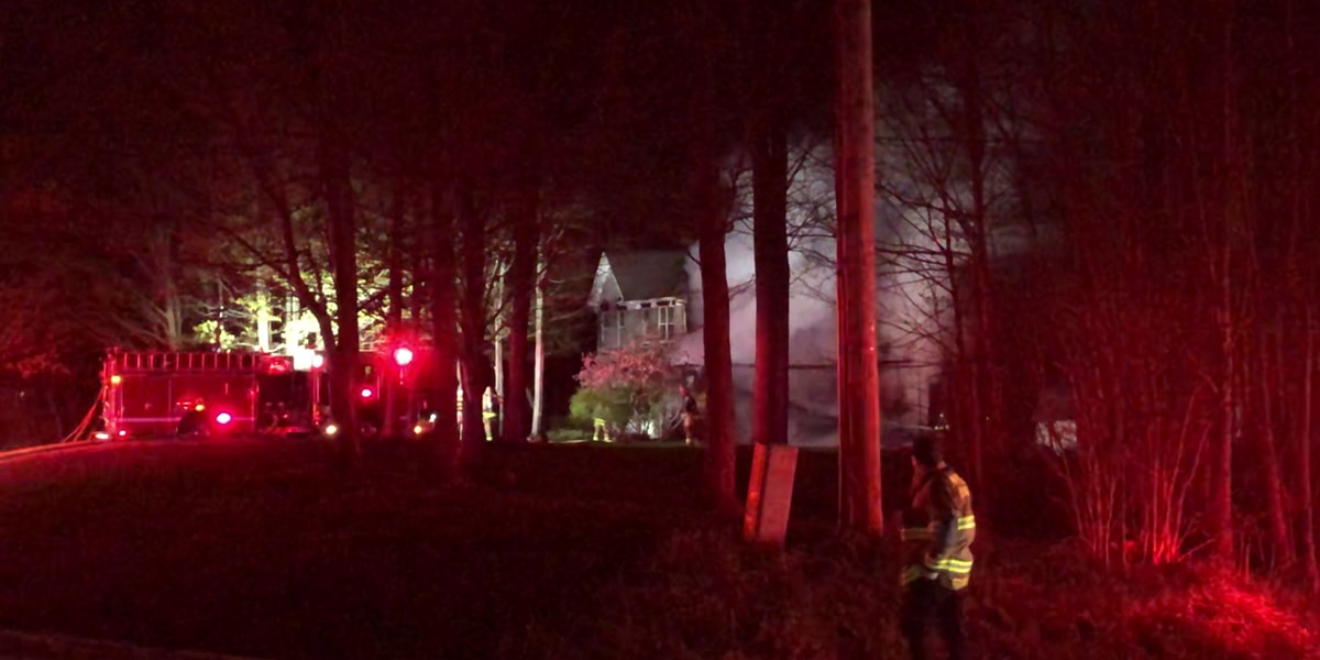 Chesterland home damaged in late night fire