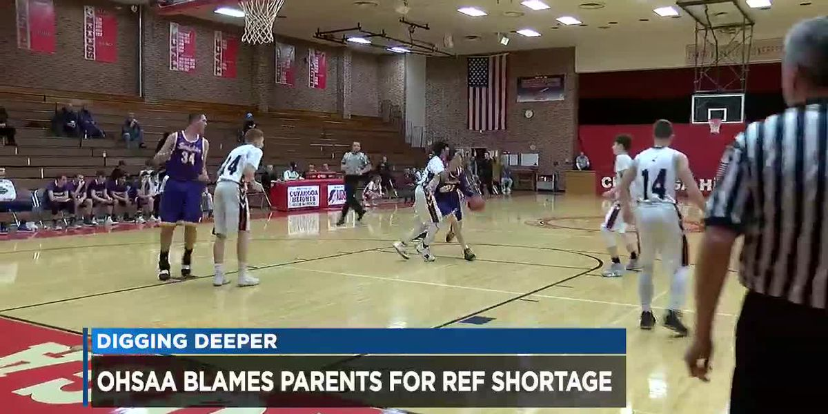 OHSAA claims parent abuse leading to shortage of game officials