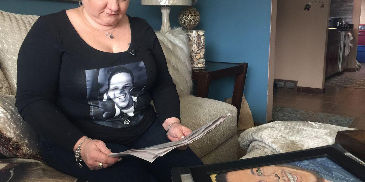 Heartbroken mother relieved after suspect in her son's murder is captured