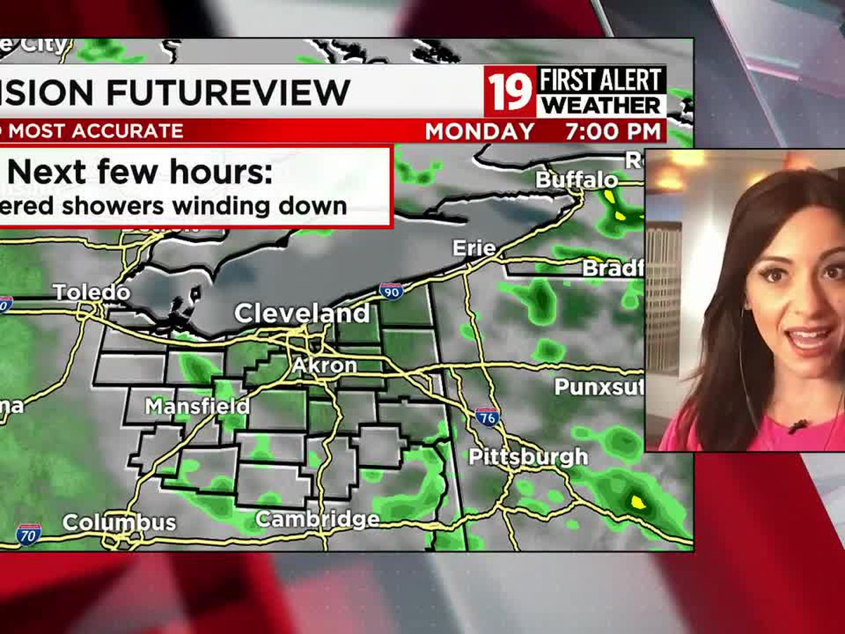 Northeast Ohio weather: Much cooler weather this week, more clouds around