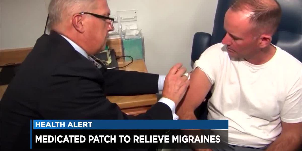 Medicated patch may relieve migraines