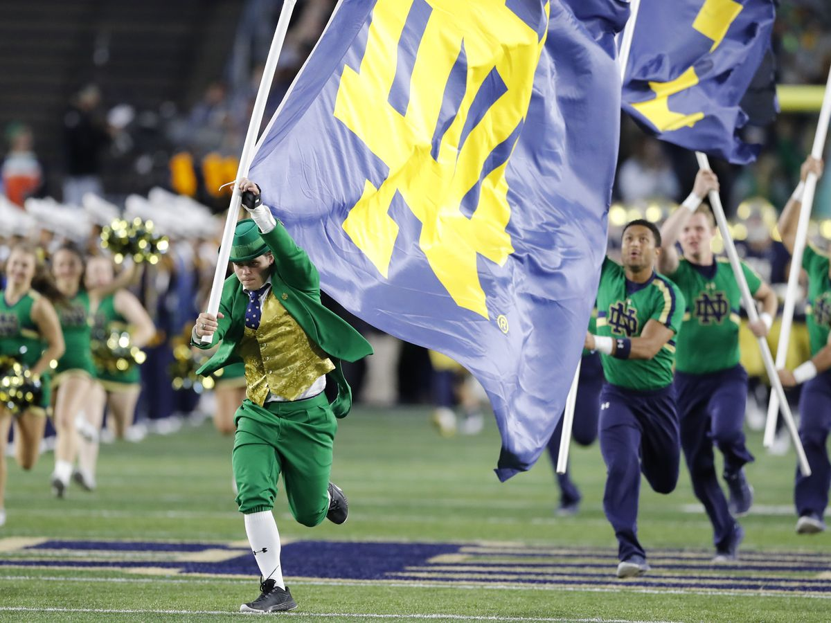 Elyria native selected as first woman ever to serve as Notre Dame's leprechaun mascot