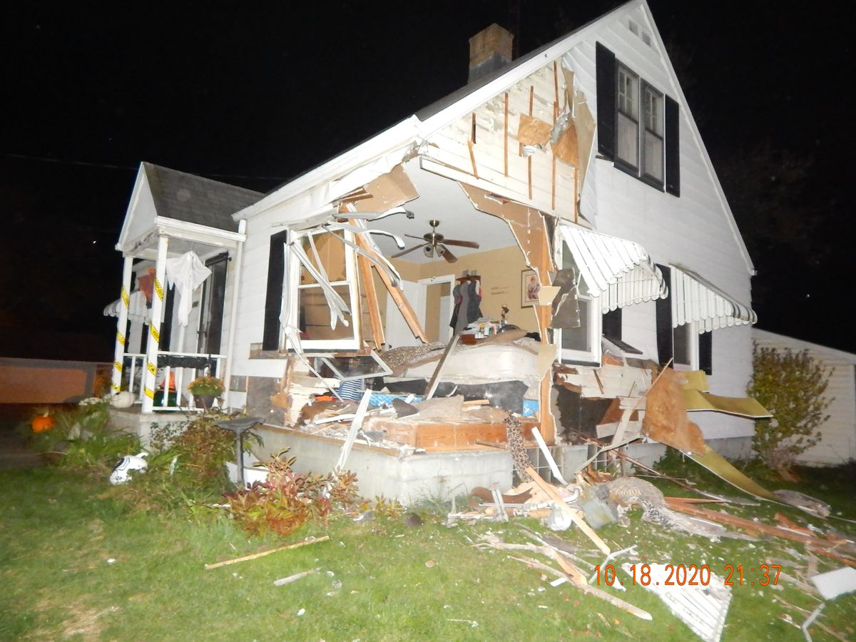 Teen injured after drugged driver crashes into house in Canton Township (video)