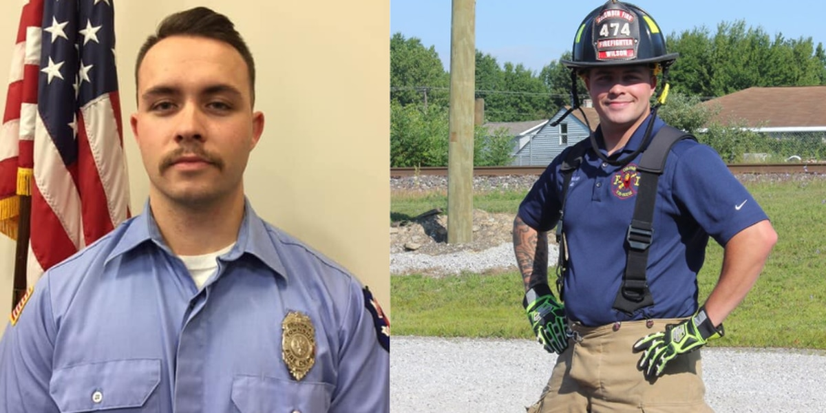 Olmsted Township police officer honored at State of the Union after his firefighter son died trying to save others