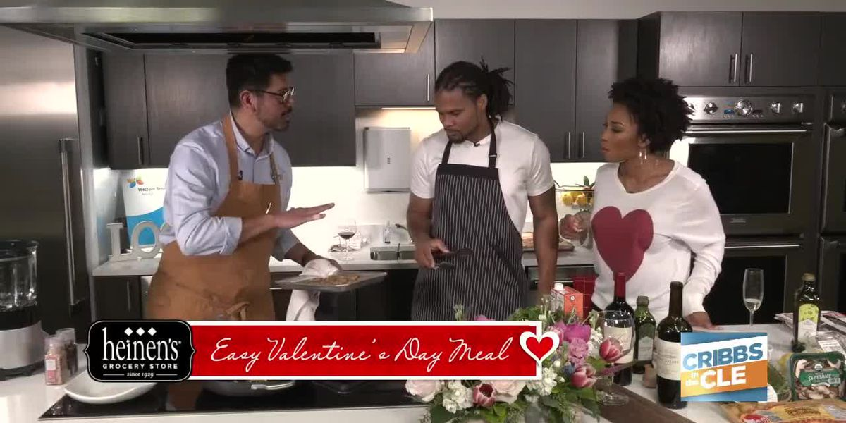 How to celebrate Valentine's Day at home: Valentine's Day dinner ideas from Heinen's