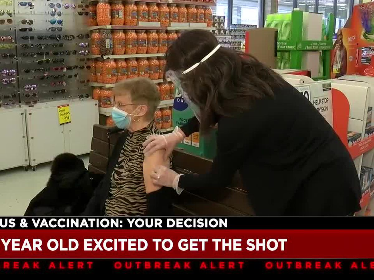 80-year-old South Euclid woman shares her COVID-19 vaccine journey with 19 News