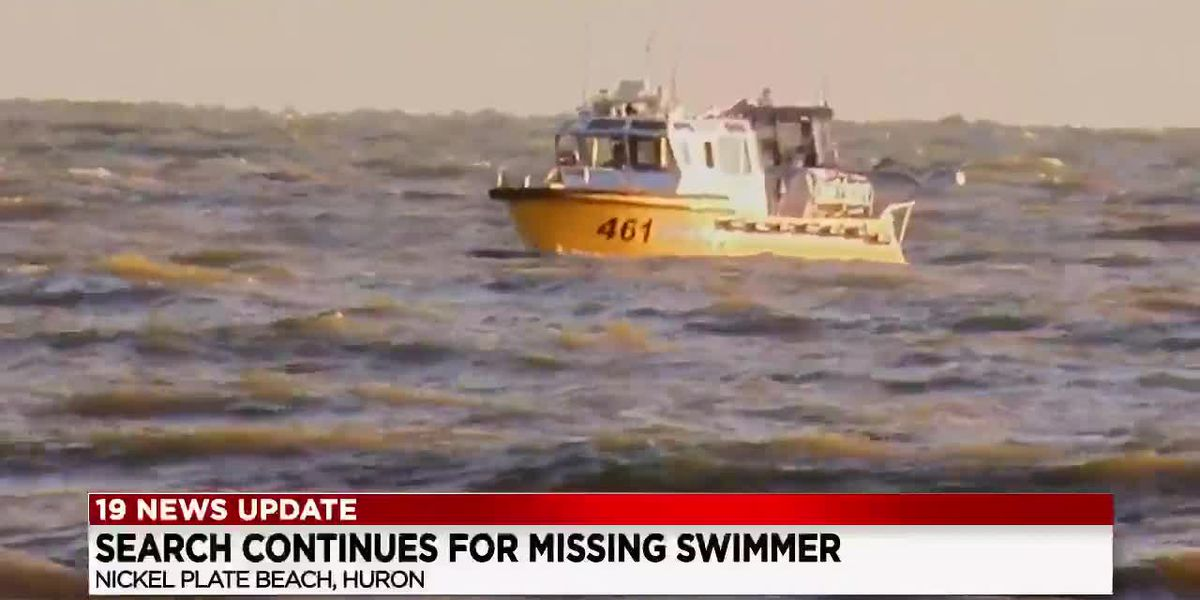 Recovery effort set to resume for missing swimmer at Nickel Plate Beach