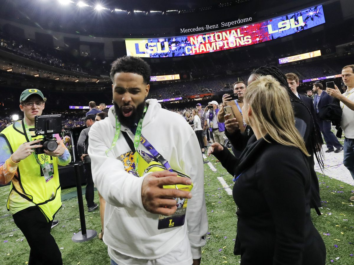 Odell Beckham Jr. banned from LSU for two years