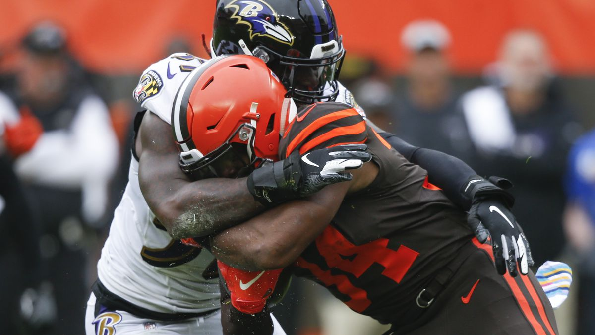 Why did the Cleveland Browns cut Hyde loose?