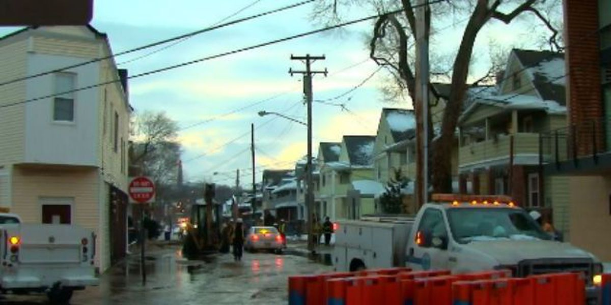 Water main break in Little Italy repaired