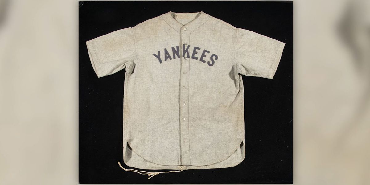 Babe Ruth jersey expected to fetch record $4.5 million at summer auction