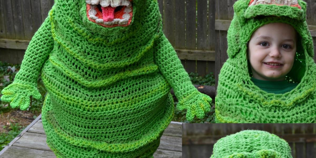 Mentor mom crochets unbelievable Halloween costumes for her kids