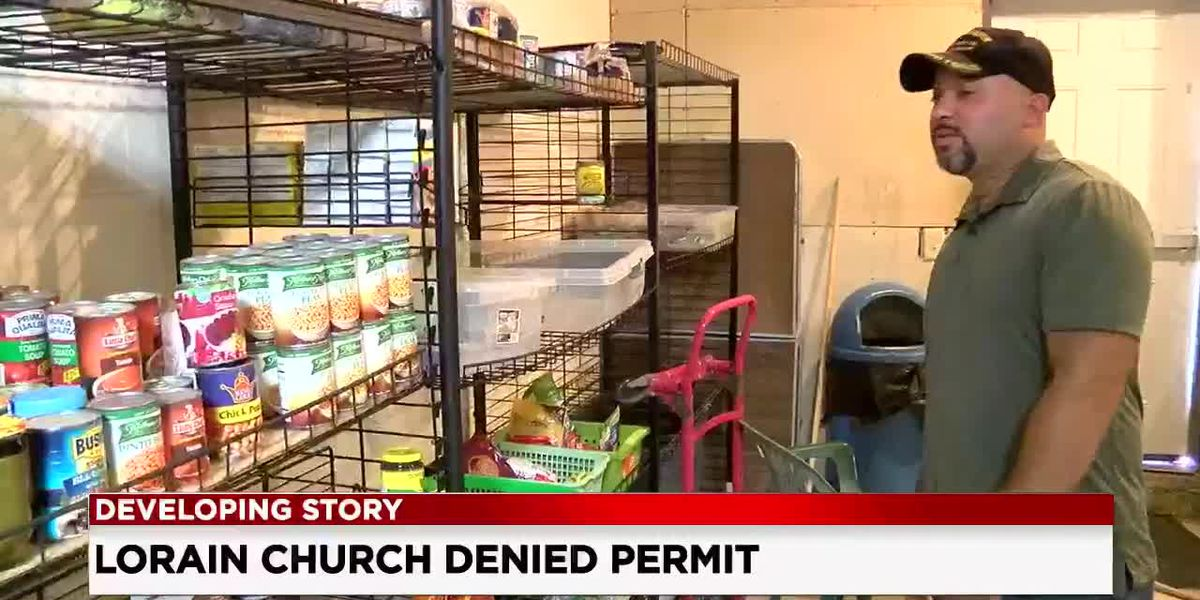 Lorain pastor denied church permit for helping homeless