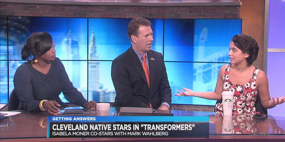 Isabela Moner, local actress and star of upcoming Transformers film, stops by Cleveland 19