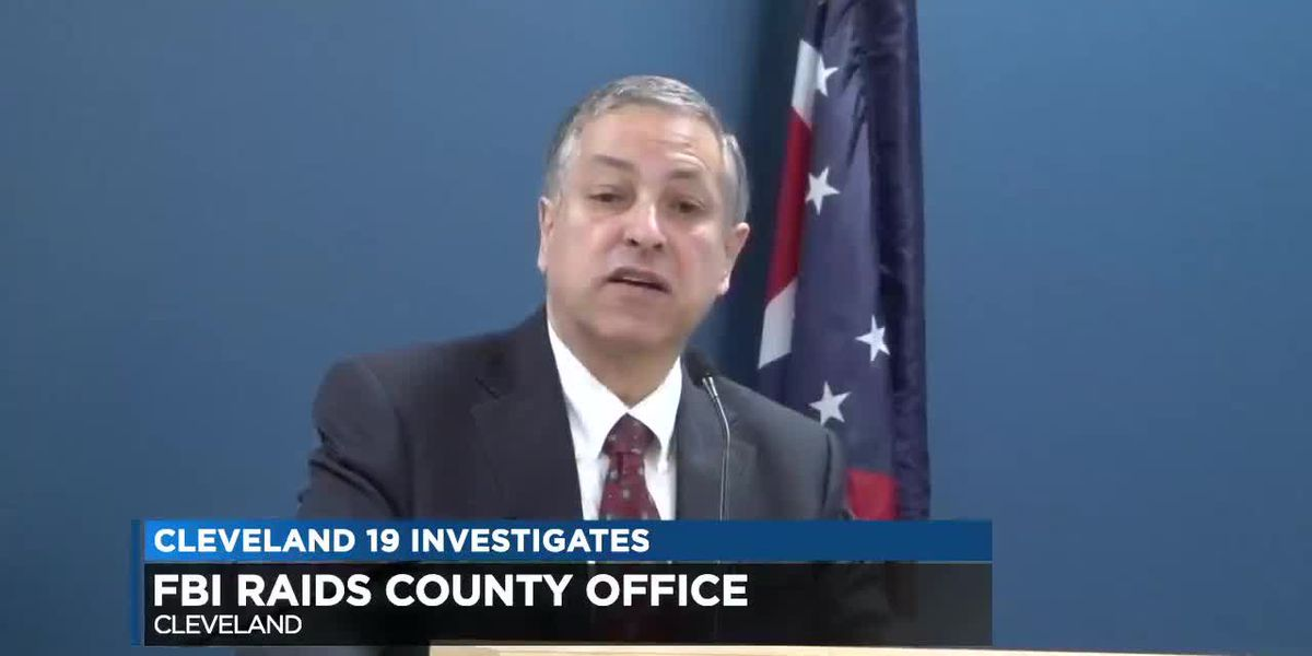 Cuyahoga County Executive Armond Budish's computer hard drive taken during FBI raid