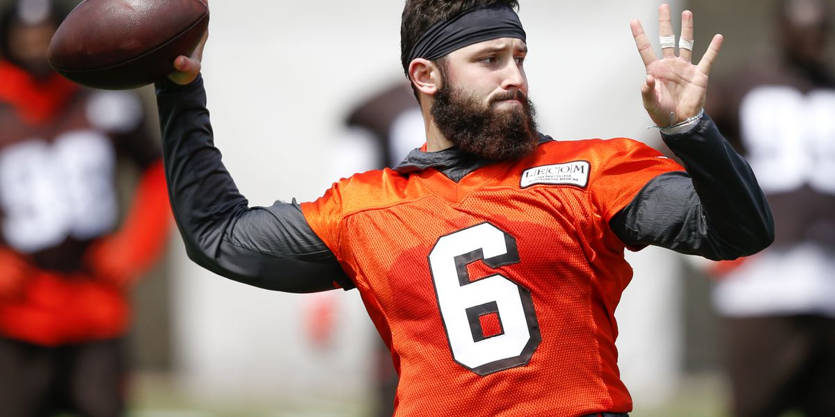 Take a look: Baker Mayfield shows off clean-shaven look at Cleveland Browns OTAs