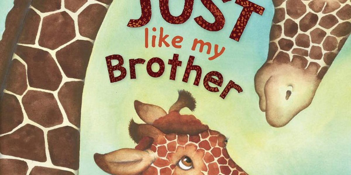 Here's a great book for siblings, 'Just like my Brother,' on Story Time with Jamie Sullivan