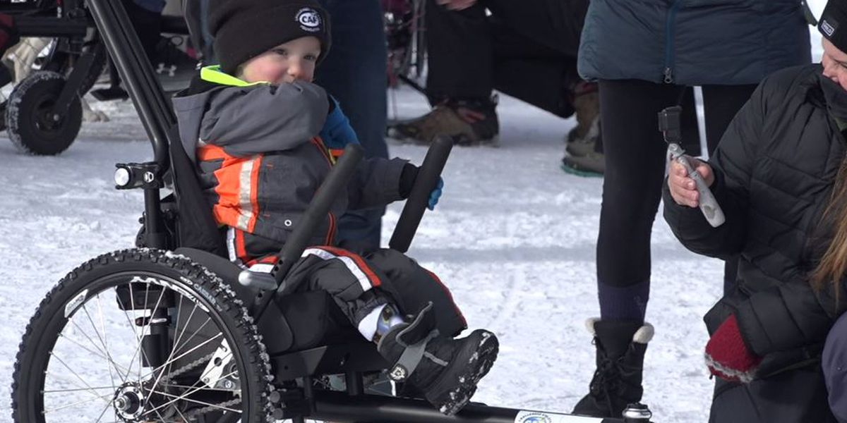 'Such a blessing': Boy, 3, with mobility difficulties gifted off-road wheelchair
