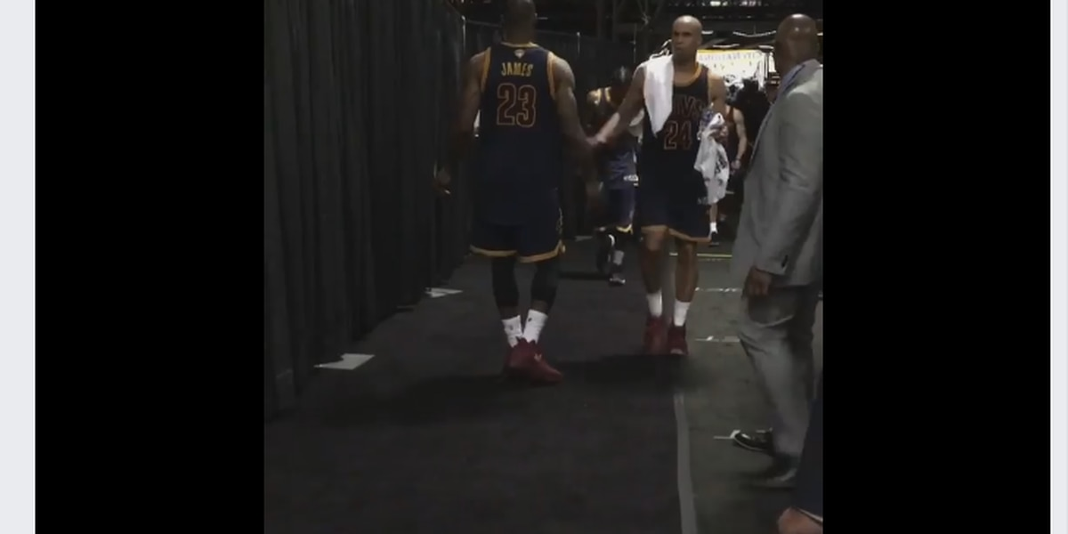 LeBron displays leadership despite disappointing loss (video)