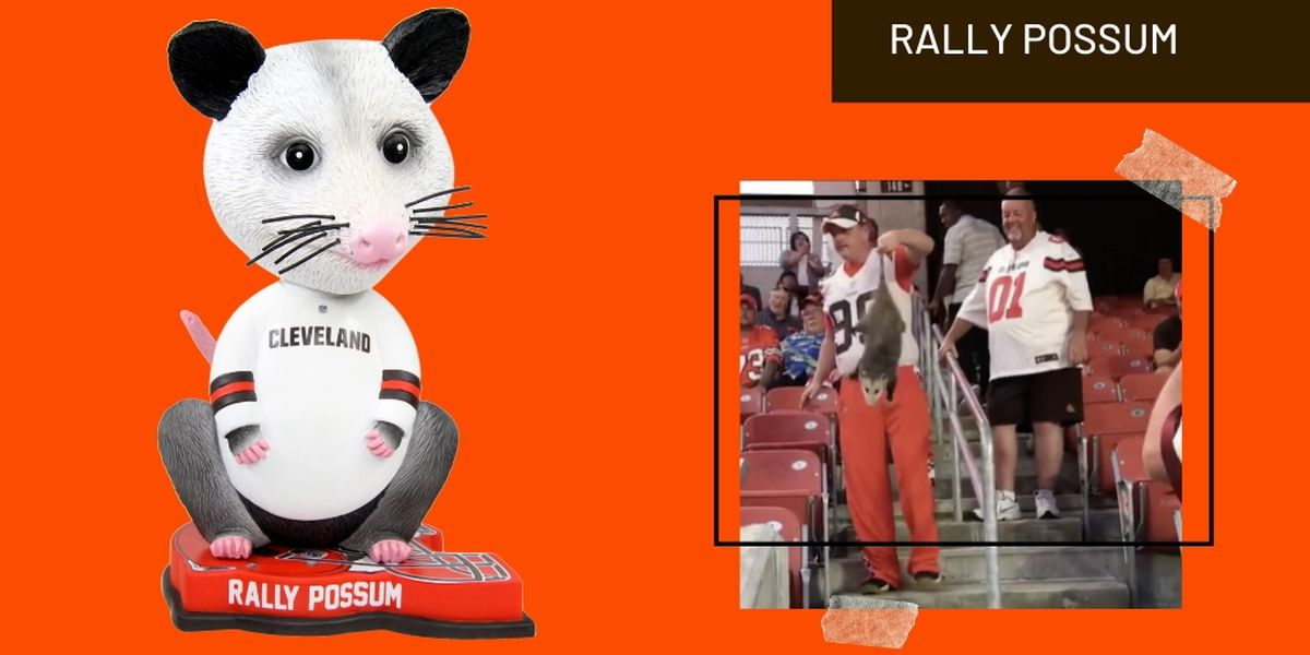 You Can Now Own A Bobblehead Commemorating The Cleveland Browns Rally Possum